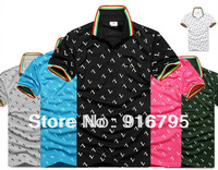 2013 Crocodile Brand fashion Men's shirts Short-sleeved for men lovers casual shirt with crocodile LOGO free shipping