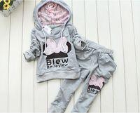Autumn children's clothing 2014 child set female child set baby sports set children set
