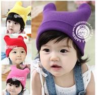 New Hot Kids Warm Hats Fit 0-3Yrs Girls Boys Baby Winter Hats Wholesale Children Hats Free Shipping 4PCS/LOT