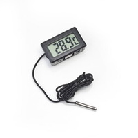LCD Fridge Freezer Temperature Digital Thermometer Aquarium Freezer H155 Free Shipping