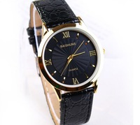 New Arrival ! Hot sale Leather Strap Vintage Classic Watch,Men business quartz watch top quality #158314 free shipping