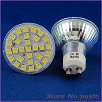 10 PCS/Lot Free Shipping New 5W 500LM GU10 SMD 5050 29 LED Pure White Spot Light Lamp Bulb 220V LED0250