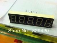 Ark 0.56 inch 5 digital five 7 segment LED display Bright red CC or CA  20pcs/lot Free shipping