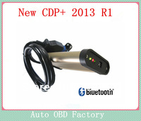 version 2013.1 Software R1+Keygen TCS cdp pro plus with Bluetooth without oki chip for Cars/Trucks+Big Sales Promotion,2pcs/lot