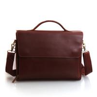 Cattle commercial men's bag three-dimensional cowhide briefcase work bag handbag bag 1038