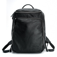 Cattle leather 2013 casual lovers design cowhide backpack travel bag 3065