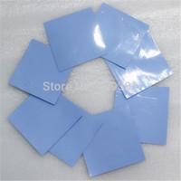 FREE SHIPPING China Manufacturer 8PCS/LOT 100*100*1mm Thermal Pads,CPU Heat Pads,CPU Thermal Pad,CPU Thermal