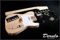 DIY Electric Guitar Kit  Bolt-On Neck  Bass Wood  Unfinished
