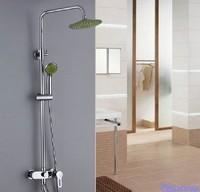 Bathroom shower faucet shower head set copper bathtub shower set