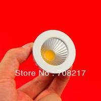 DHL  Free shipping Dimmable 7W MR16  COB LED Spot Light LED  Bulb Lamp DC12V