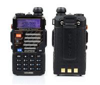 Free shipping(2pcs/lots) by Fedex Baofeng 2013 UV-5RB 5 Watt VHF/UHF 136-174/400-480MHz Dual Band Radio+ Free Eeapiece