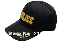 POLICE  Name  Peaked Cap with Free Ship Leisure Outdoor Caps