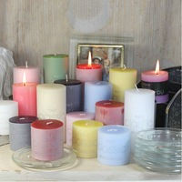 F&C LZ130001 5x5cm Christmas home decoration holiday Aromatherapy candles free shipping to USA by China Post Air