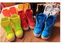 Free Shipping Women's Winter Color Smart Studded Platform Casual Sneakers Drop Shipping (Size 36-44) 308