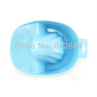 Nail Bubble Bath Spa Bowl Soak Off Tray Acrylic Gel Soaking Soak Bowl Tray Nail Art Tool T404