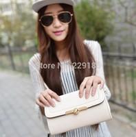 new 2014 Hot sales women messenger bags formal evening bag simple fashion one shoulder bag Handbags Wholesale free shipping B021