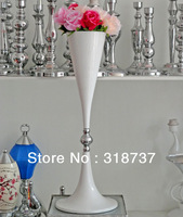 10pcs/lot The white metal T Road cited/ vases decoratives