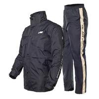 Split adult raincoat rain pants set fashion double layer thickening outdoor motorcycle raincoat C92214