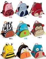 free shipping Hot sale 2~6Age children backpack 2014 brand kids cartoon bag fashion schoolbag children bag
