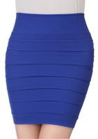 Woman's Bust Skirt Pleated Basic Short Skirts Slim Hip A-Line Skirt Female skirts