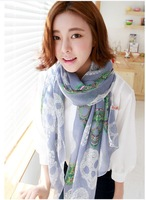 2013 thin fashion scarves, scarves, 6064 new winter color diamond ghost head skull shawls scarves,free shipping