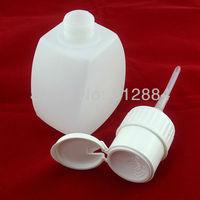 220ml Pump Locking Dispenser Polish Remover Cleaner Empty Bottle Refillable Bottles Nail Art Tool T412
