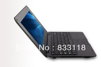 Free shipping 10.1inch dual core Computer webacm 512M 4G Via 8850 Android netbook laptops