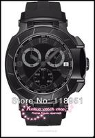 2014 Original The new rubber strap large dial quartz chronograph waterproof calendar fashion casual luxury Swiss Mens Watches