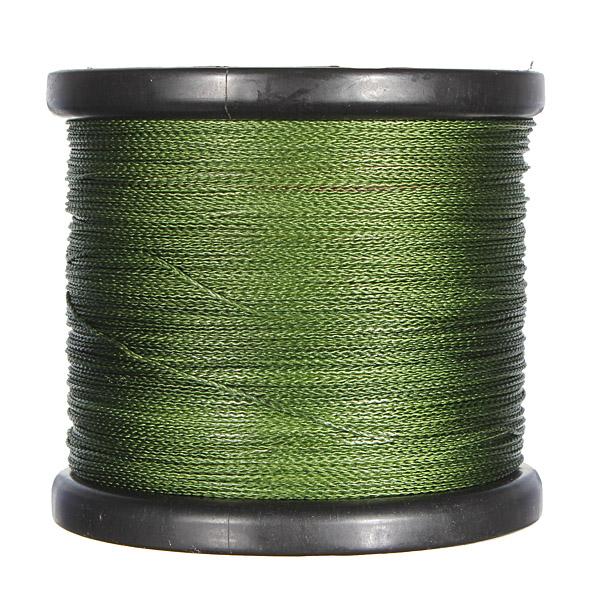 100%PE Moss Green Super Strong Braid Braided Fishing Line 500M 200LB (90kg)(China (Mainland))