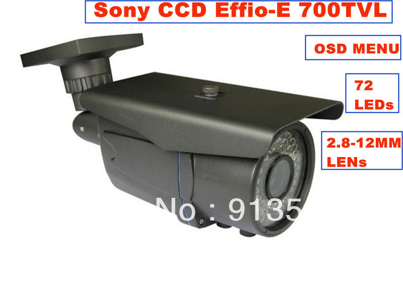 Камера наблюдения DHL ems: , 700 1/3 SONY effio/e CCD 72 CCTV OSD WS-JQ03 dhl ems 5 sests new for omron proximity switch e2g m18kn10 ws b1