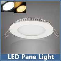 5X Led Panel Light  Round Shape 6W Ceiling Lamps downlight  indoor lighting SMD 5630 5730  Recessed