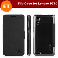 Original Nillkin Flip Case for Lenovo P780 Android Smartphone Color Black
