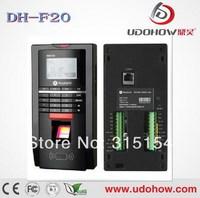 Free shipping+ Biometric Fingerprint Access Control time Attendance Machine  (DH-F20)