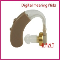 Adjustable Sound Amplifier 4 Channels Cheap Digital Hearing Aids Behind the Ear Free Shipping