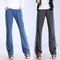 2013 Free Shipping Knitted Cotton Pants Casual Pants Women Yoga Pants Loose Plus Size Women Pants 4 Colors