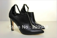 2013 new 10cm pointed shoes Europe and the United States Women's Leather Shoes