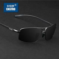2014 Men's Aluminum-magnesium Polarized Sunglasses Driver Traveling Mirror Male Driving Fishing Outdoor Sports Glasses Eyewears