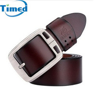 2013 genuine leather mens cowhide belts for jeans casual all-match belt