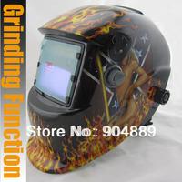Solar auto darkening welding/polish(grinding) mask/helmets/welder cap/welding lens/eyes mask for welder equipment/plasma cutter