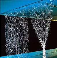 1000 LEDs 10*3M LED Curtain Icicle String Lights Christmas Garden Xmas Wedding Party Decorations UK/AU/US/EU Plug
