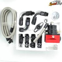 819 Big Sale Speed Way - Aeromotive fpr adjustable fuel pressure regulator with gauge Injection Bypass Type-S BLACK/RED