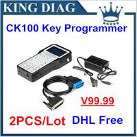2014 New Arrival Auto Keys Pro Tool CK-100 Auto Key Programmer CK100 V39.02 Silca SBB The Latest Generation CK 100 free shipping