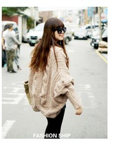 Free shipping in the fall of 2013 winter, irregular skirt shag line loose coat matching shawl bat wing fighter jets
