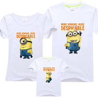 Plus size fashion family milk clothes 2 family set t-shirt short-sleeve clothes for father and son family pack