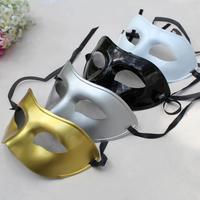 Adult child mask masquerade masks plastic half face mask