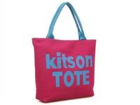 WOMEN HANDBAG Canvas tote bags Women's Shoulder bags handbag letter fashion  larger Wholesale
