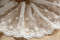 Fashion flower embroidered lace,trimming lace for garment,embellish for wedding dress,curtain,scarpbooing accessories