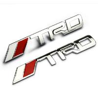 Trd signs refires - - - emblem car stickers - body small metal labeling - 1pcs