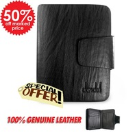 Women's genuine leather wallet male hasp design cowhide short wallet lovers wallet  free shipping