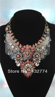 shourouk style luxury necklaces pendants shourouk gem necklace  luxury retro dazzle colour crystal jewel color necklace
